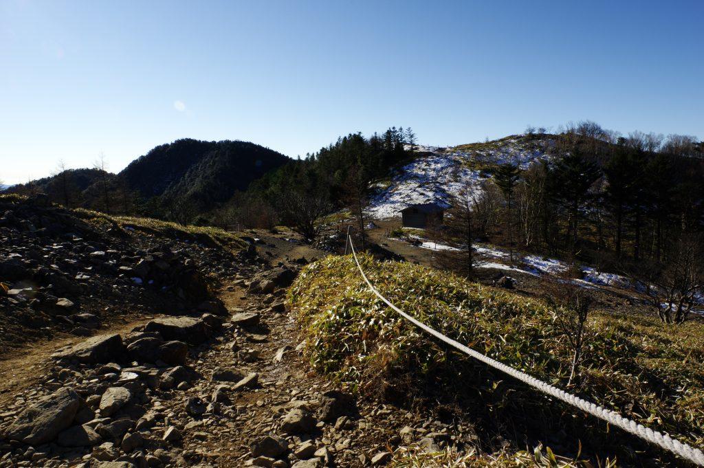 大菩薩の稜線