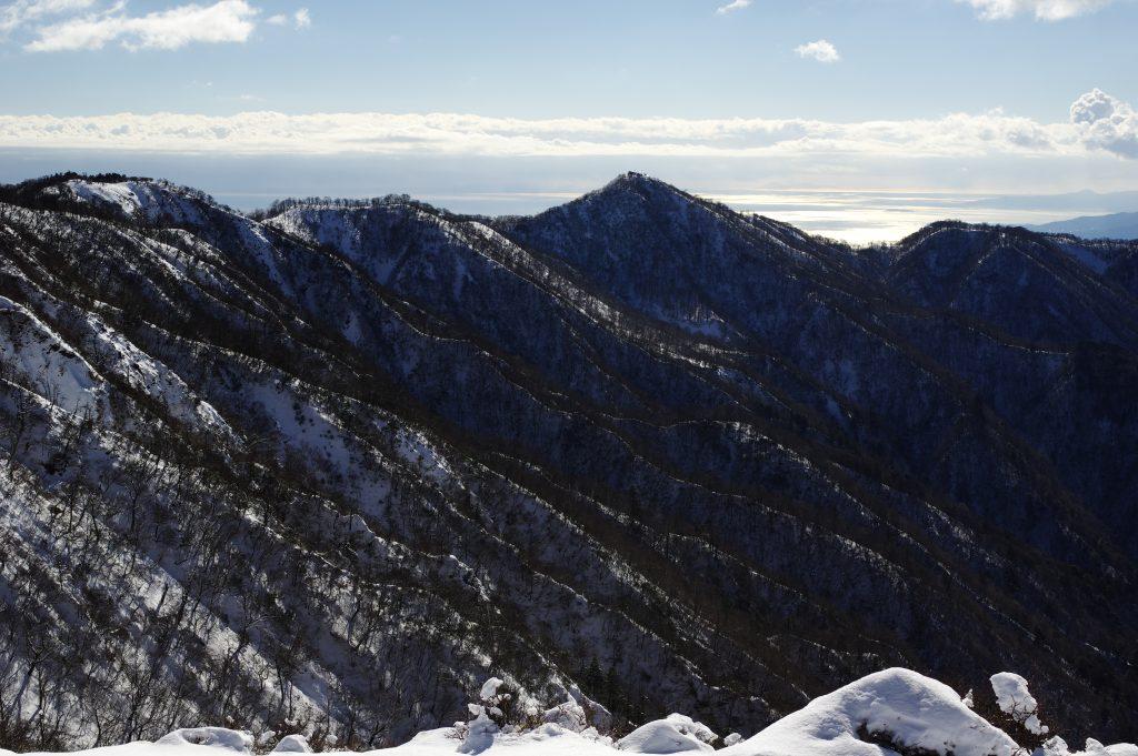丹沢主脈からの塔ノ岳