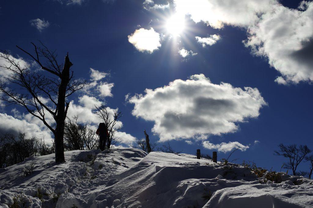 丹沢主脈 丹沢山から塔ノ岳に戻る途中