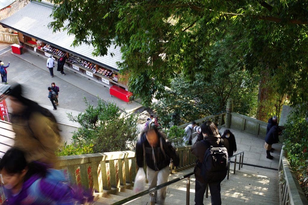高尾山薬王院の階段