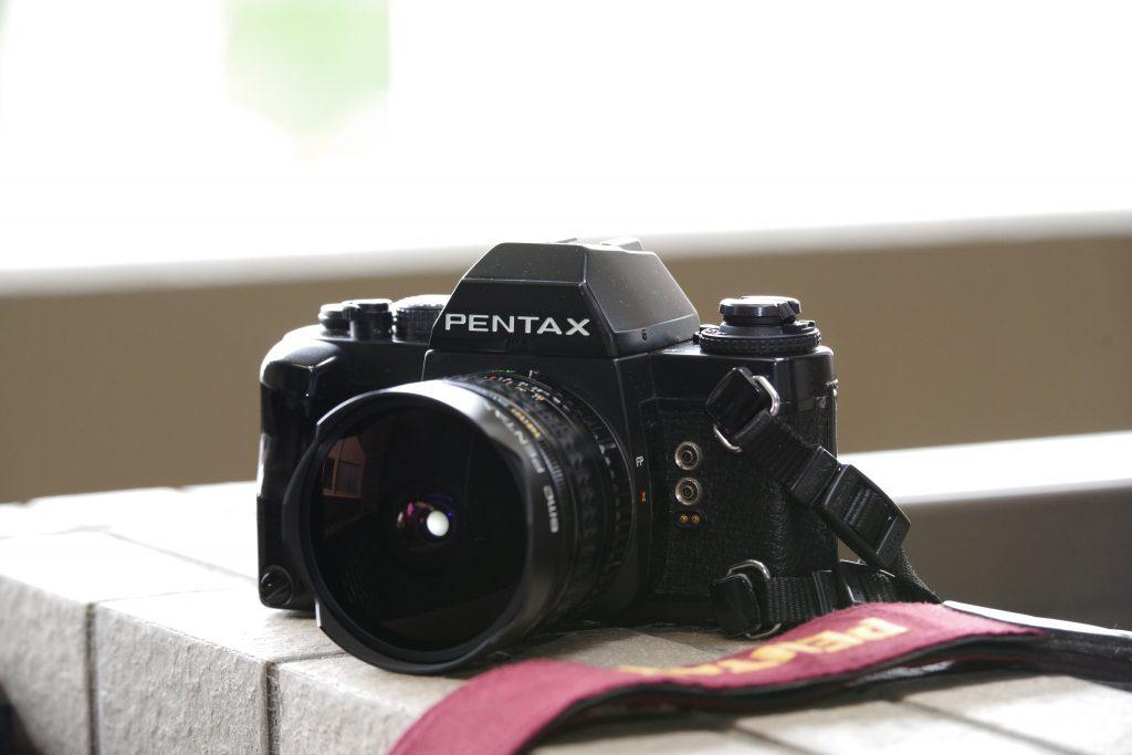 PENTAX LX + smc PENTAX-A FISH-EYE 16mm F2.8